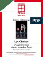 Dossier Pedagogique Les Chaises
