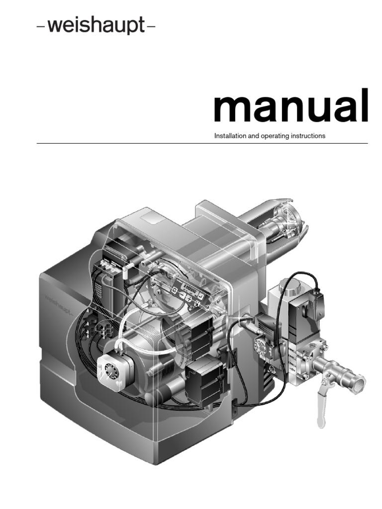 wg10 1 instalation manual an valve electrical connector rh scribd com weishaupt burner manual wm-g10 weishaupt g5 burner manual