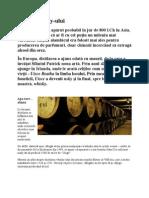 Istoria Whisky