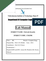 NS Lab Manual 2012
