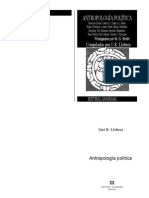 Antropologia Politica Llobera 1