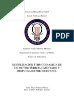 Modelizacion Termodinamica De Un Motor Turboalimentado Y Propulsado Por Bioetanol – Tesis – Universidad Carlos III