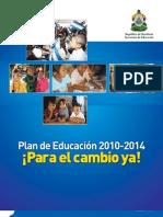 Plan de Educacion 2010-2014 honduras FINAL.pdf