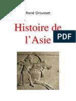Grousset Histoire de l Asie