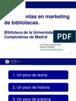 Marketing Bibliotecas