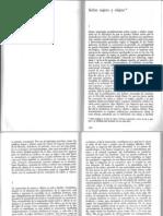 Sobre Sujeto y Objeto (Adorno)