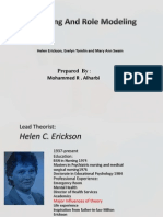 modeling and role modeling theory Helen.Erickson