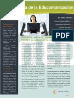 Revista reflexiones educomunicación