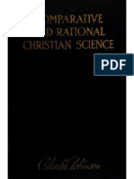 Comparative & Rational Christian Science Robinson, Charles