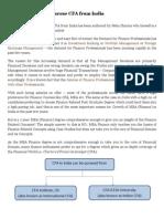 CFA India_ How to Pursue CFA From India