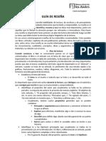 Prueba Reseña 2013-1