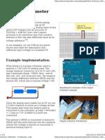 Arduino Voltmeter