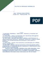 52840161 Societatea Romaneasca in Perioada Interbelica