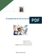 Las Tecnologías de la Información y la Comunicación tic