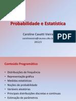 Probabilidade e Estatística(4)