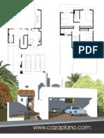 Planos Casas Entre Medianeras