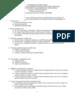 Audit Financiar - Grile - Titular Disciplina - Prof.univ.Dr. LIANA ELEFTERIE - Univ. Spiru Haret - Constanta