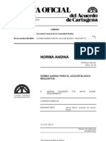 Norma Andina Azúcar