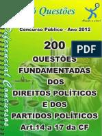 1723_DOS DIREITOS POLÍTICOS E DOS PARTIDOS POLÍTICOS- apostila amostra
