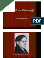 Joseph von Eichendorff Präsentation
