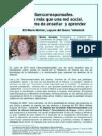 CIBERCORRESPONSALES. IES María Moliner. Valladolid
