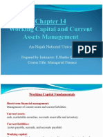 Chapter 14 Working Capital Current Asset Management 5 1