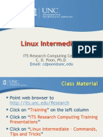 Linux.intermediate.tipsAndTricks