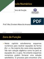 Zero de Funcao