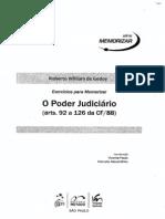 Roberto William de Godoy - Exercícios para Memorizar - O Poder Judiciário - Ano 2010