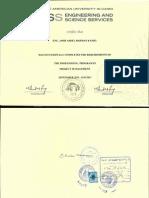 PRMG Certificate