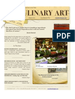 Culinary Art - Issue Two