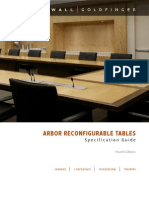 WG Reconfigurable Arbor Table Brochure