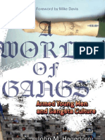 A World of Gangs Armed Young Men and Gangsta Culture (Globalization and Community)