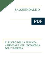 Ruolo Della Finanza