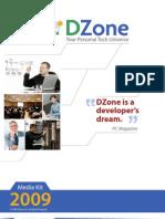 DZone Media Kit 2009