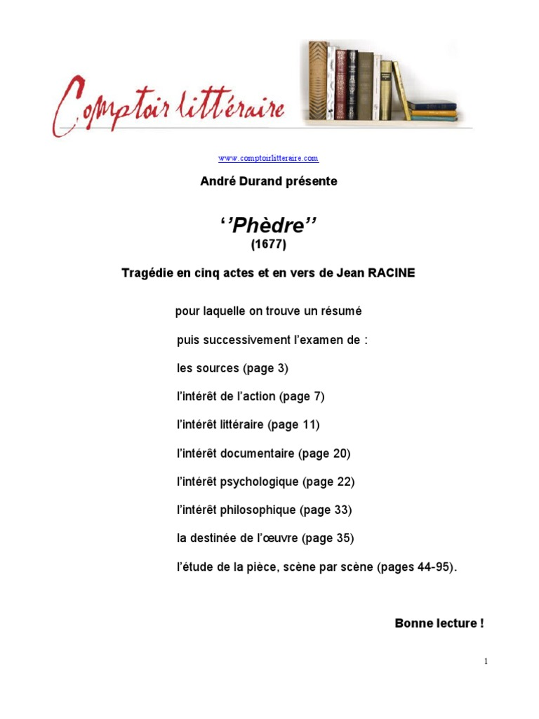 order your own writing help now racine phedre resume