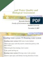 Wetland Water Quality Biological Assessment Presentation