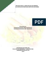 Guia de Orientacion Estudio de Mercado Para Una Empresa Salchichas