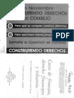 Curso de Finanzas, Derecho Financiero y Tributario