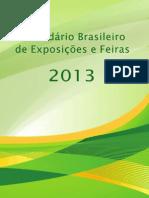 calendario expoisções e feiras 2013