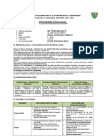 Program CTA y ARTE 4-2012