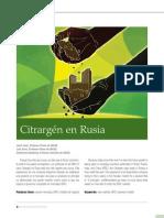 CASO Citrargen en Rusia