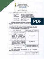 CarSU Invitation to Bid Provision of Solar Power System