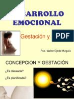 Desarrollo Emocional Fetal
