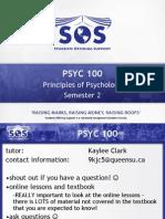 Sos Psyc 100 - Semester 2 (2)