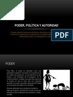 3 Poder, Política y Autoridad