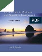 Excel Models for Business & OM