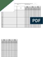Senarai Semak Kelas Pbs 2013
