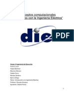 Conceptos computacionales relacionados con la Ingeniería Eléctrica