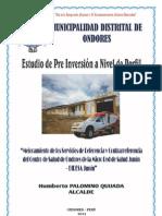 Ambulancia Ondores
